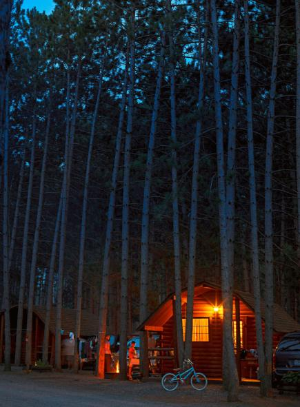 Click to see Midwest Living's best campsites
