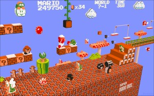 Super Mario and Dragon City.  1990 vs 2015